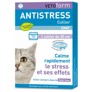 Vetoform Antistress Collier chat - 1 collier
