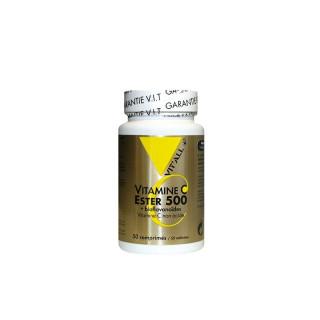 Vitall+ Ester C500 + Bioflavonoïdes - 50 comprimés