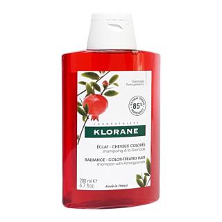Klorane Shampooing éclat couleur à la grenade - 200ml
