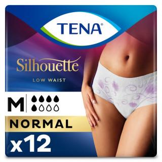 Tena Silhouette Sous-vêtement absorbant normal - Taille M - 10 unités