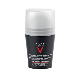 Vichy Homme Déodorant roll-on peaux sensibles 48H - 50ml