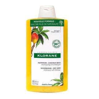 Klorane Shampoing nutritif au beurre de Mangue - 400ml