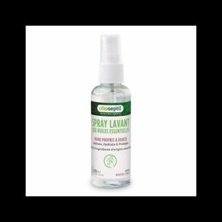 Ineldea Olioseptil Spray lavant aux huiles essentielles parfum menthe-figue - 50ml