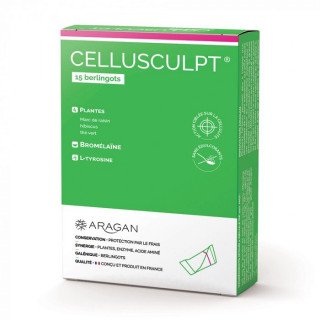 Synactifs Cellusculpt - 15 berlingots