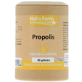 Nat&Form Propolis - 60 gélules