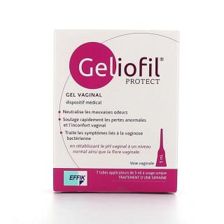 Effik Geliofil Protect Gel vaginal - 7 tubes applicateurs de 5ml