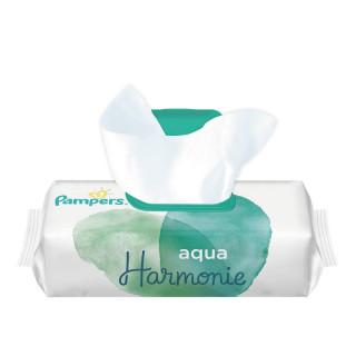 Pampers Aqua Harmonie Lingettes imprégnées x 48