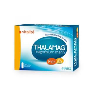 Thalamag Magnésium marin Fer B9 - 30 gélules
