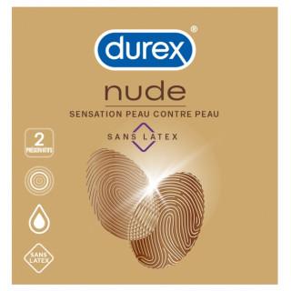 Durex Nude sans latex - 2 préservatifs