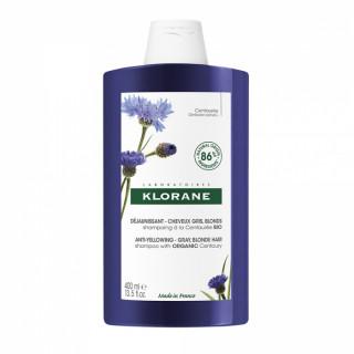 Klorane Shampoing déjaunissant à la Centaurée Bio - 400ml