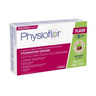 Physioflor Flash - 10 gélules et 10 comprimés