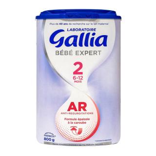 Gallia Bébé Expert AR 2 lait 2ème âge - 800g