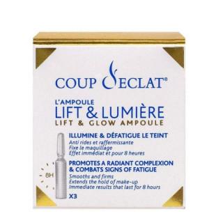 Coup d'Éclat Ampoules Lift & Lumière visage - 3 ampoules