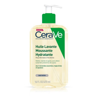 Cerave Huile lavante moussante hydratante - 473ml