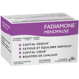 Novomedis Fadiamone Ménopause - 60 comprimés + 30 capsules molles