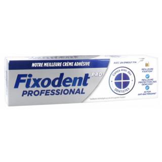 Fixodent Pro Crème adhésive prothèses dentaires - 40g