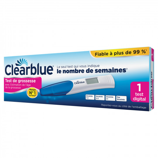Clearblue digital Pregnancy Test