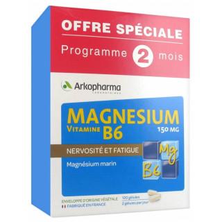 Arkopharma Magnésium vitamine B6 150mg - 120 gélules