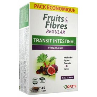 Ortis Fruits & Fibres Regular Transit intestinal - 45 cubes