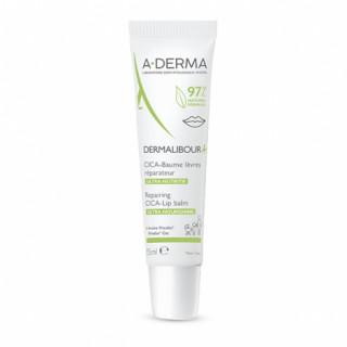 A-Derma Dermalibour+ Cica Baume lèvres - 15ml