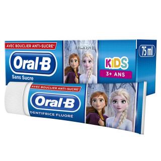 Oral B Kids Dentifrice fluoré sans sucre 3 ans - 75ml