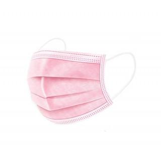 Altervip Masques chirurgicaux 3 plis pour enfant x 50 - Rose
