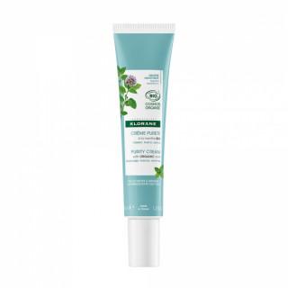 Klorane Crème pureté à la menthe aquatique Bio - 40ml