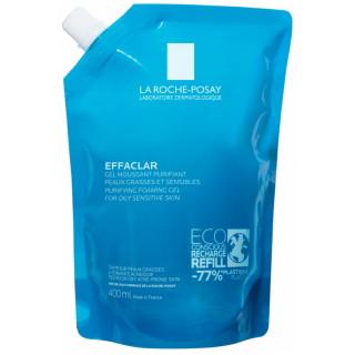 La Roche-Posay Effaclar Gel moussant purifiant - Éco-recharge 400ml