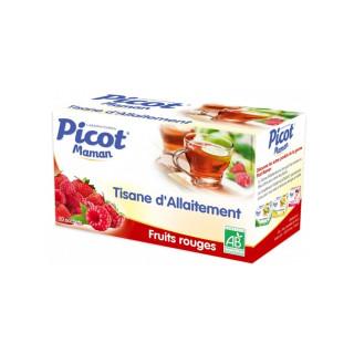 Picot Tisane d'allaitement Fruits rouges - 20 sachets
