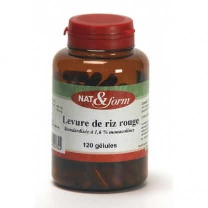 Nat et Form Red Rice Yeast 120caps