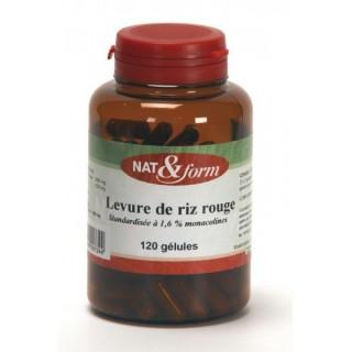 Nat et Form Red Rice Yeast 120caps