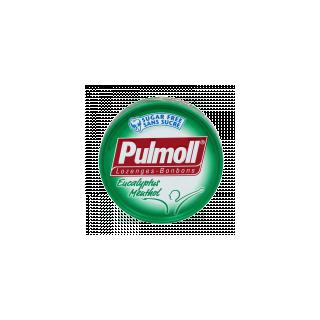 Bonbons Pulmoll Sans sucre Eucalyptus et Menthol