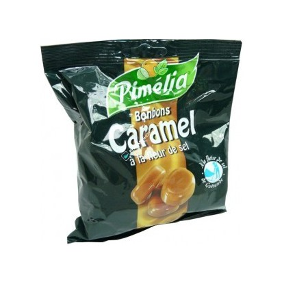 Pimélia Bonbons Caramel à la Fleur de Sel 100G
