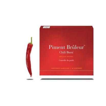 New Nordic Piment Brûleur Chili Burn 60Cp