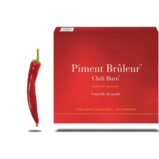 New Nordic Piment Brûleur Chili Burn 60Cp