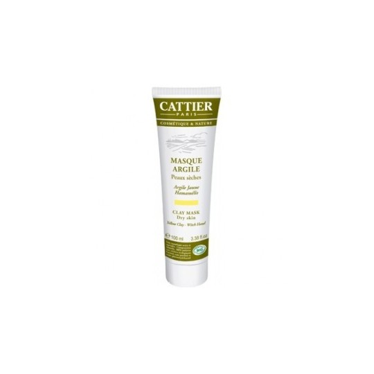 Cattier Argile Masque Jaune 100ml