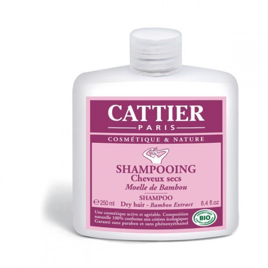 Cattier Bamboo marrow Shampoo 250ml