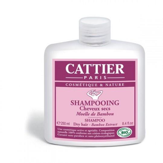 Cattier shampooing moelle de bambou 250ml