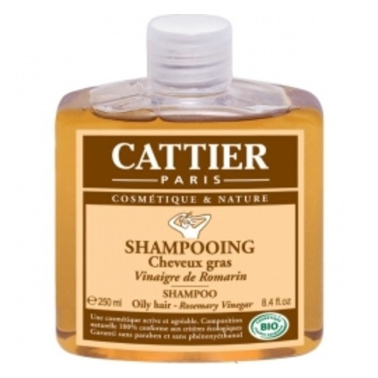 Cattier Shampooing Vinaigre Romarin 250ml