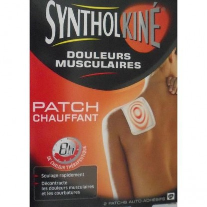 Patch Syntholkiné Douleurs Musculaires 2 Patchs