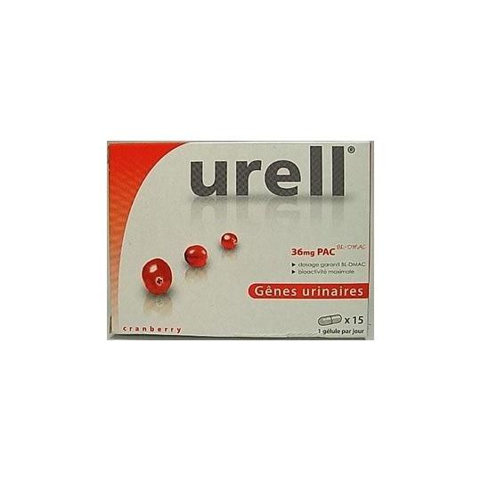 Urell Cranberry Boite de 15 Gélules