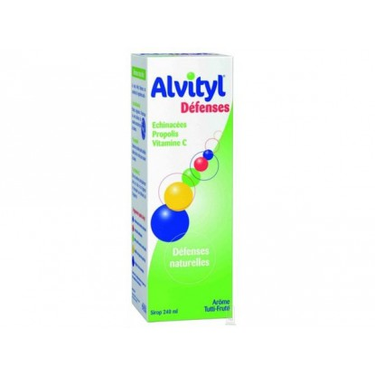 Alvityl Sirop Défenses 240ml