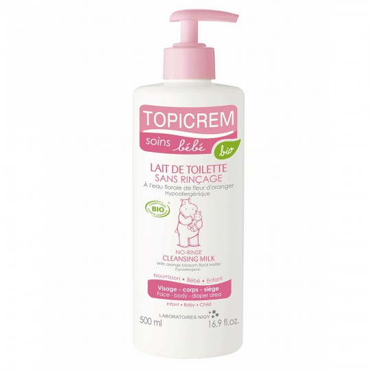 Topicrem Lait de Toilette 500ml