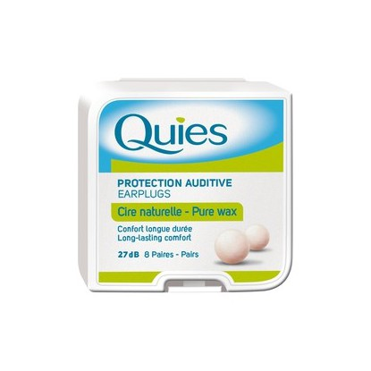 Quies 90 Protection auditive 8 Paires