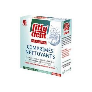 FittyDent 32 Comprimés Nettoyants