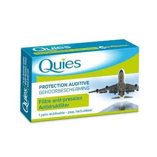 Quies Protection Auditive Avion 2 Paires