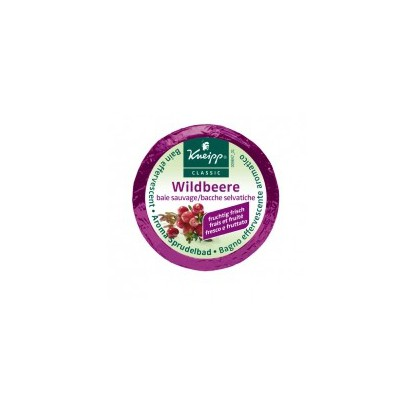 Kneipp Galet Bain Effervescent Baies Sauvages