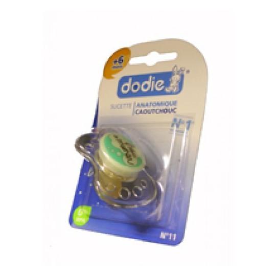 Dodie Sucette +6 Mois Caoutchouc N11
