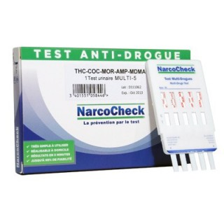 Narcocheck Test Anti-Drogue