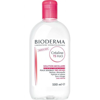 BIODERMA Créaline H2O TS Solution micellaire 500ml